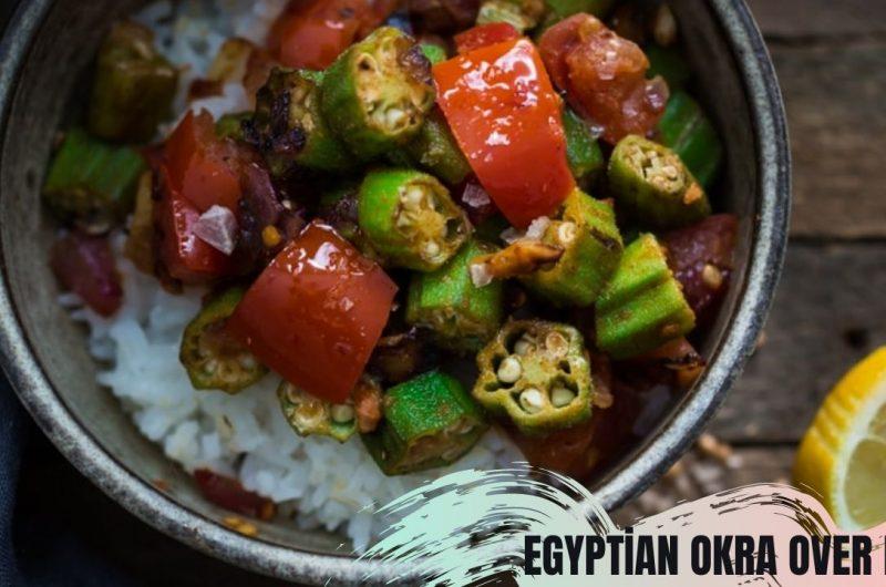 egyptian okra over rice
