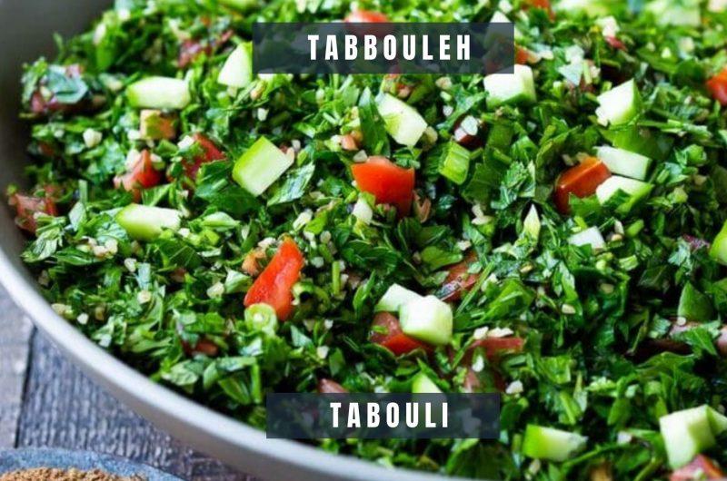 tabbouleh (tabouli)