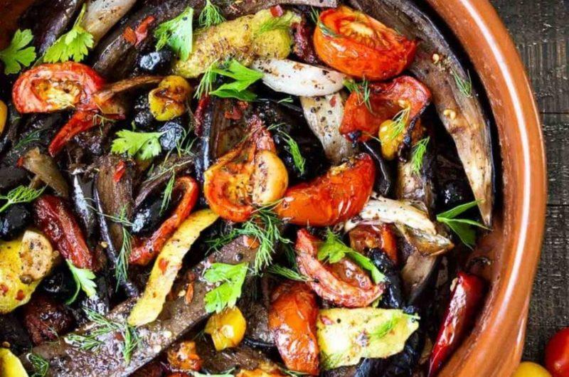 slow-baked moroccan eggplant
