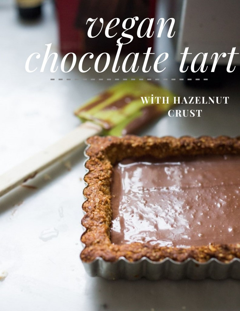 vegan chocolate tart3