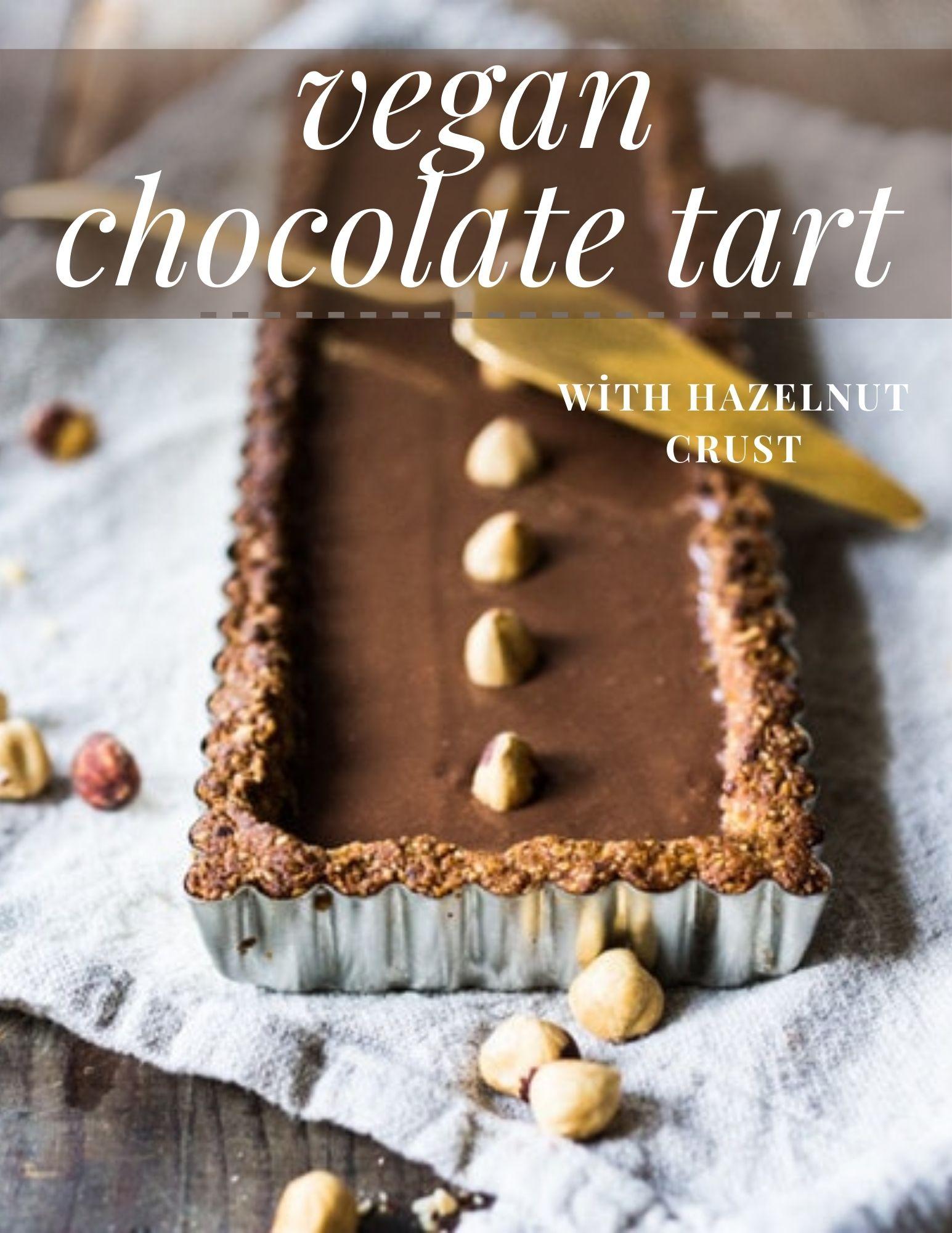 vegan chocolate tart4