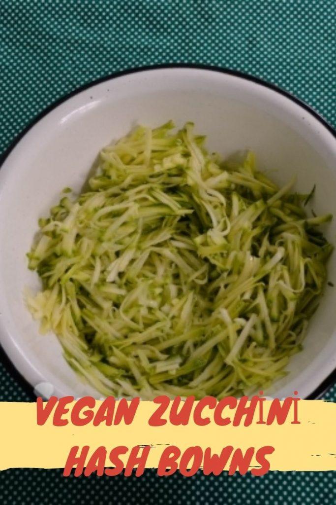 vegan zucchini hash bowns1