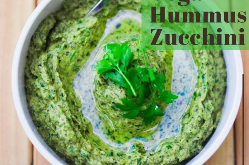 vegan hummus zucchini