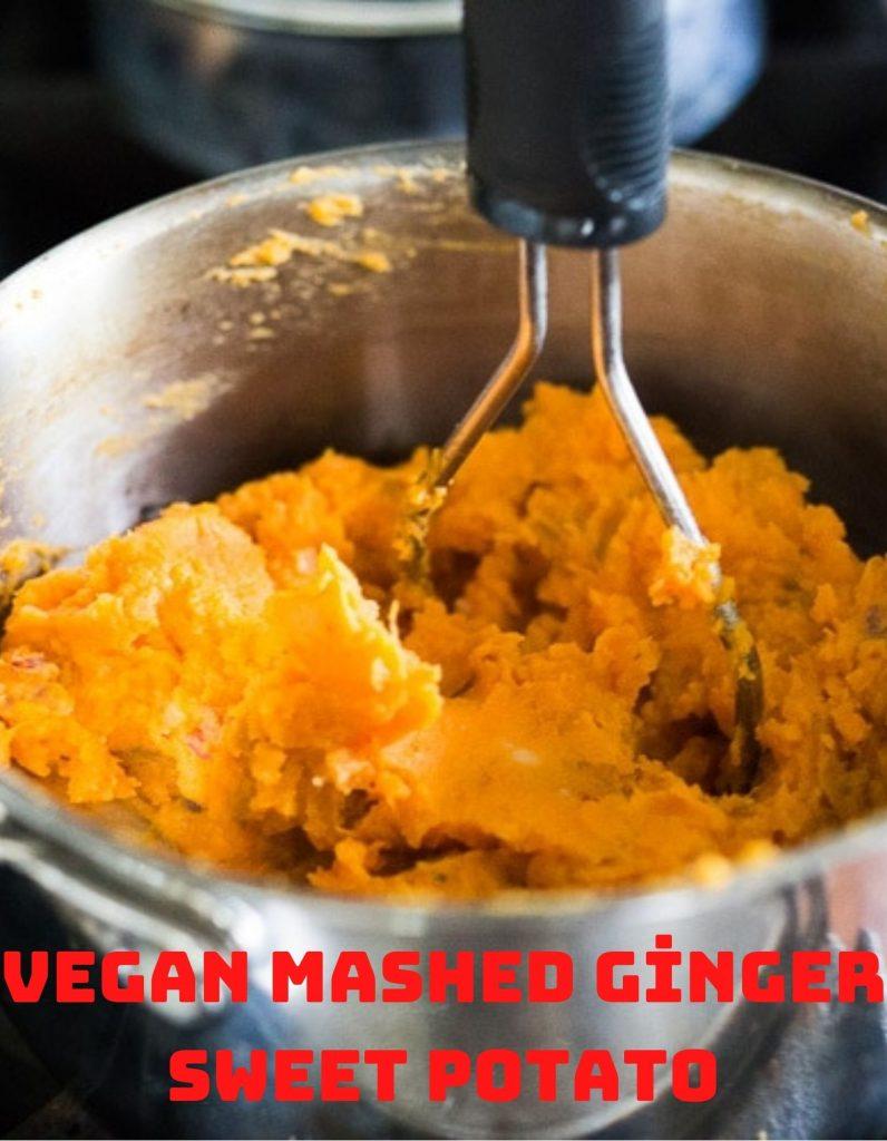 vegan mashed ginger sweet potato 2